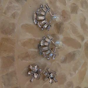 Stella & Dot multi-wear earrings